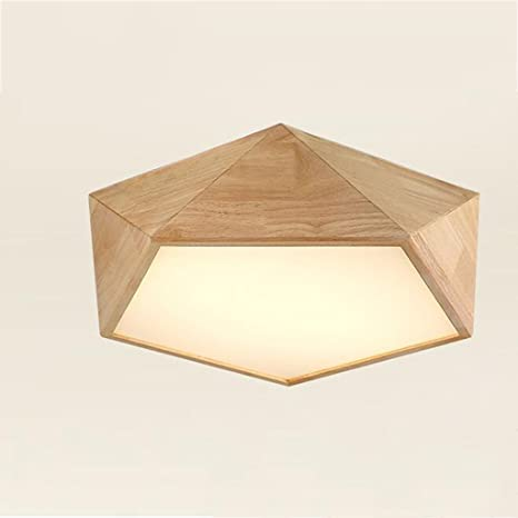 DRM lámpara clásico de madera lámparas/lámparas de techo con ...