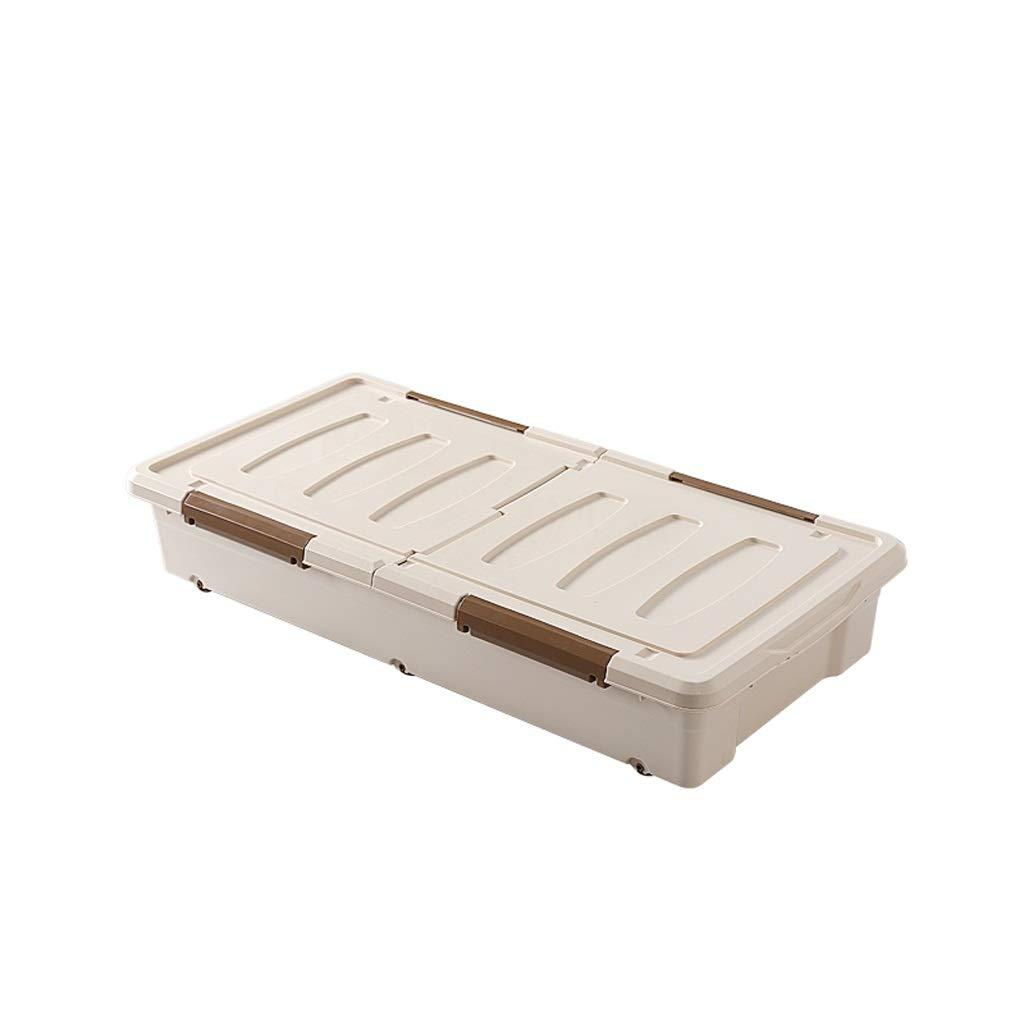 収納ボックスPP素材大容量サイドオープン家庭用服収納ボックス子供大型おもちゃ収納ボックス (色 : Brown, サイズ さいず : 97*48*27cm) B07PQF6RSC Brown 97*48*27cm