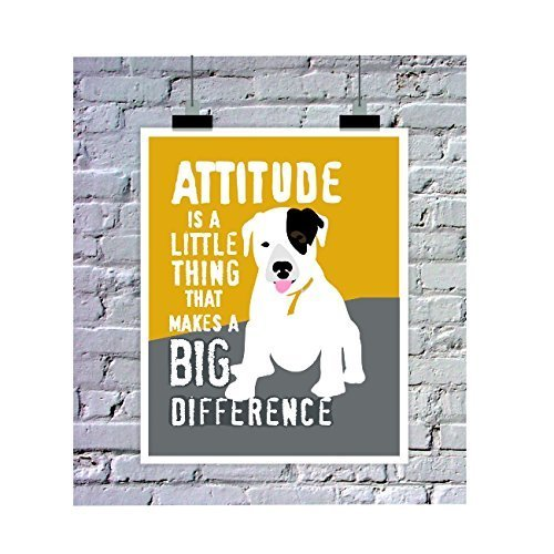 Puppy Art Poster for Kids Classroom 11 x 14