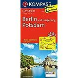 Berlin und Umgebung - Potsdam: Radkarte. GPS-genau
