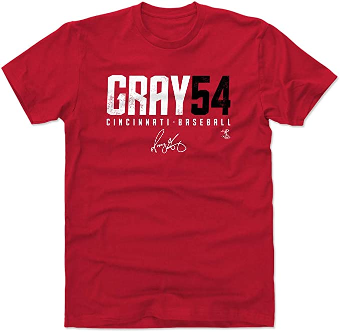 Cincinnati Cincinnati - Camisa de béisbol para Hombre (500 Niveles), Color Gris, Atlético, XL, Rojo: Amazon.es: Deportes y aire libre