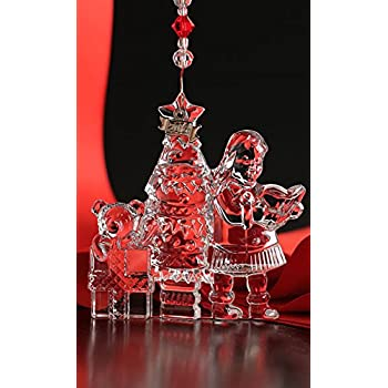 Amazon.com: Waterford Crystal Christmas Wonders Ornament New 2014 ...