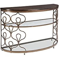 Fraloni Sofa Table Bronze/Traditional