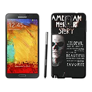 Samsung Galaxy Note 3 Case ,Unique And Fashionable Designed Case With american horror story title Black For Samsung Galaxy Note 3 Phone Case