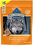 Blue Buffalo Wilderness Trail Treats Grain Free Crunchy Dog Treats Biscuits, Turkey Recipe 24-oz bag Larger Image