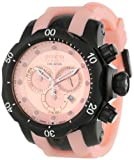Invicta Men's 11974 Venom Reserve Chronograph Pink Dial Pink Polyurethane Watch, Watch Central