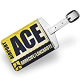 Luggage Tag Airportcode ACE Arrecife/Lanzarote - NEONBLOND