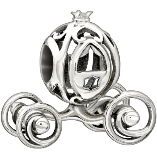 New Authentic Chamilia Disney - Cinderella's Coach Charm Bead 2010-3173