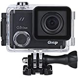 Gitup Git3 G3 Duo 2160P 24FPS Ultra HD Touch Screen LCD Wifi Action Camera Support Stabilization PRO Packaging