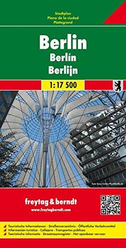 Freytag Berndt Stadtpläne, Berlin - Maßstab 1:17.500