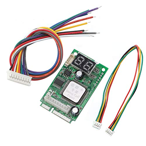 Heasen New Laptop Pci Pci E Test Card Analyzer Tester Diagnostic Post For Compal Amazon Com Industrial Scientific