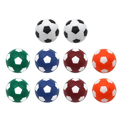 Table Soccer Foosballs Replacement Balls Mini Multicolor 36mm Official Foosball – DiZiSports Store