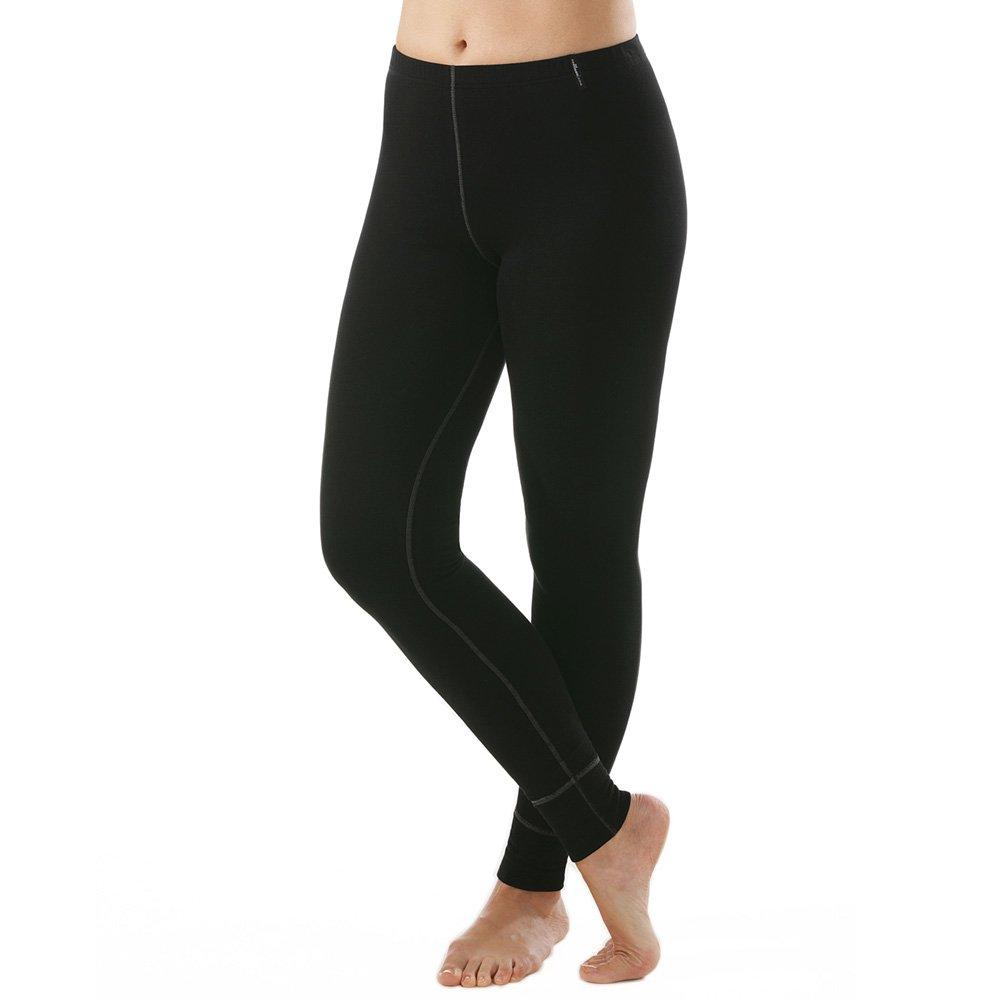 Comazo Damen Unterhose langbein - Funktionsunterwäsche - warm & clima - Active - Unterhose für den Winter - Ideal für Outdoor-Aktivitäten - Schwarz - Gr. S bis XL 1-11-2560