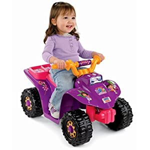 Power Wheels Dora Lil Quad by Dora the Explorer