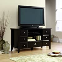 Sauder Shoal Creek Entertainment Credenza, Jamocha Wood