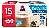 Atkins Protein-Rich Shake, Mocha Latte, Gluten Free 15 Counts (2 Packs)