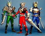 Bandai Candy DX Masked Rider Ryuki all three