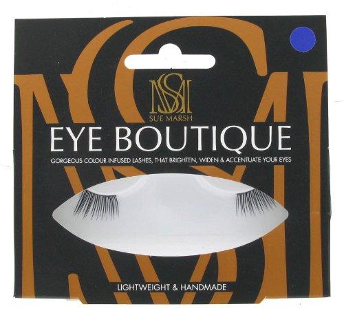 - Sue Marsh Eye Boutique Black Blue Short Half Lash