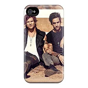 SherriFakhry Iphone 4/4s Perfect Cell-phone Hard Covers Support Personal Customs High-definition Boys Like Girls Band Pattern [pOn18288Dplu]