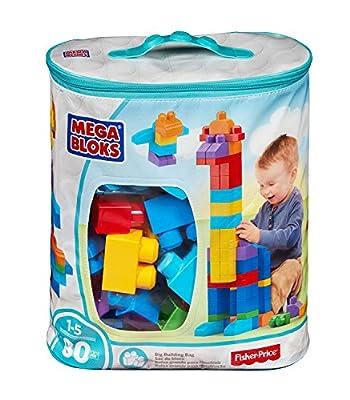Mega Bloks 80-Piece Big Building Bag from Mega Bloks