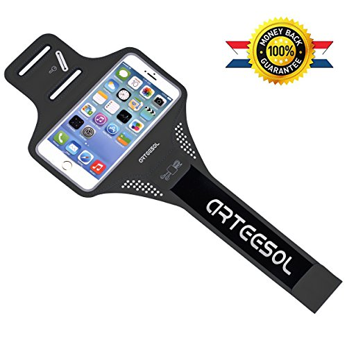 ARTEESOL iPhone 7 Running Armband, Waterproof Cell Phone Holder 4