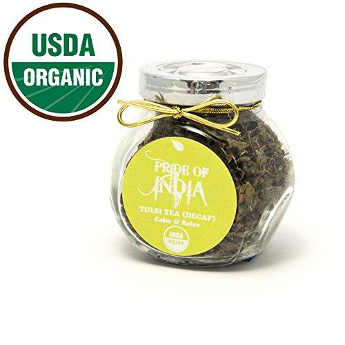 Organic Tulsi/Holy Basil Tea Gourmet Handmade Jar