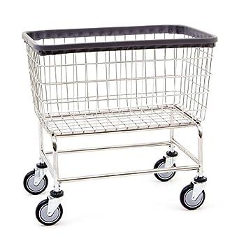Amazon.com: R & B Carro de lavandería de gran ...