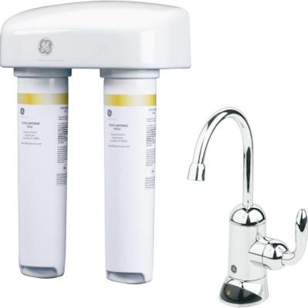 Smart Water Filters Ge Dual Stage Lead Filtration System Faucet Mount Water Filters