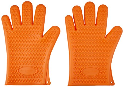 AmazonBasics Silicone BBQ Gloves Pair