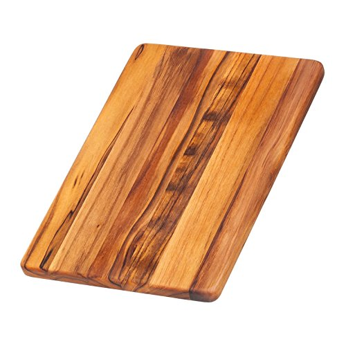 (Teakhaus Teak Cutting Board - Rectangle Chopping And Serving Board (12 x 8 x .55 in.) - By)