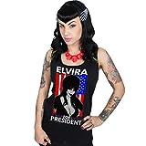 Elvira For President Womens Beater Tank By Kreepsville