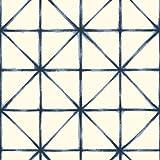 RoomMates RMK10844WP Peel and Stick Wallpaper, 20.5'' x 16.5 Feet, Blue