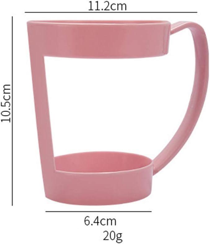 5 pezzi maniglie porta bicchiere manico scorrevole antiscottatura portabicchieri usa e getta porta tazza da caff/è per casa ristorante colore misto