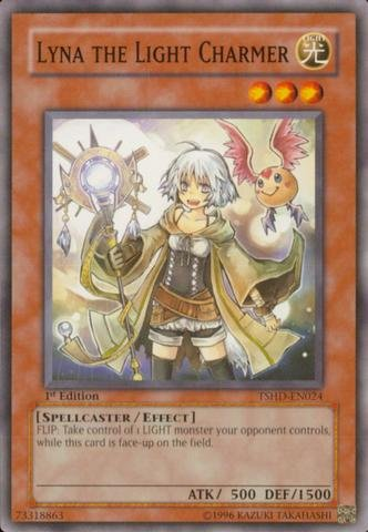 Yu-Gi-Oh! - Lyna the Light Charmer (TSHD-EN024) - The Shining Darkness - 1st Edition - Common