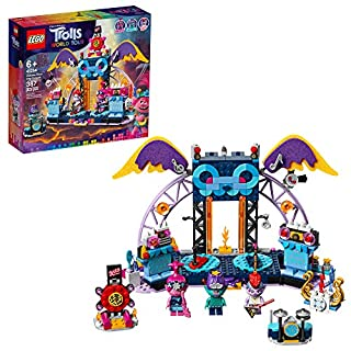 LEGO Trolls World Tour Volcano Rock City Concert 41254, Cool Trolls Toy Building Kit for Kids, New 2020 (387 Pieces)