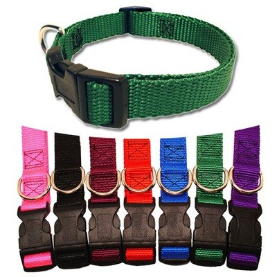 Majestic Pet 14-Inch by 20-Inch Adjustable Pet Collar, Purple, My Pet Supplies