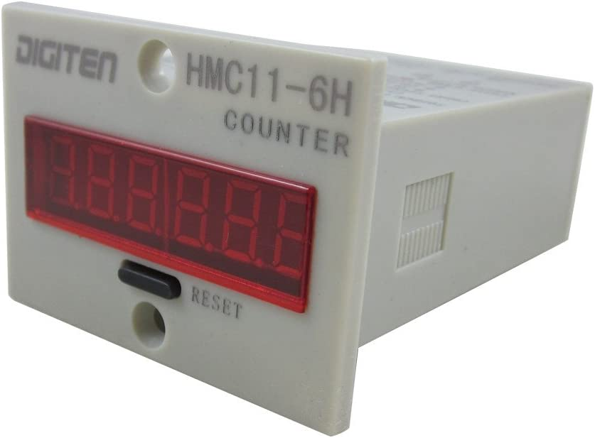 6-Digit 100-240VAC 999999 LED Display Digital UP Counter+Hall Proximity sensor