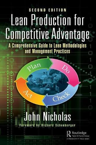 Lean Production for Competitive Advantage: A Comprehensive Guide to Lean Methodologies and Management Practices, Second Edition