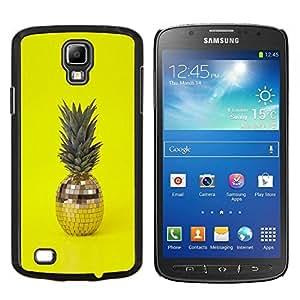 Stuss Case / Funda Carcasa protectora - 420 Weed Piña bola del disco de Amarillo - Samsung Galaxy S4 Active i9295
