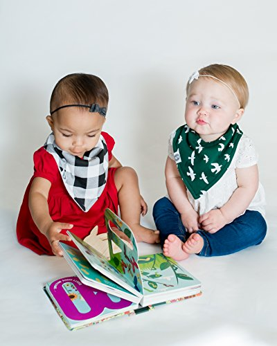Baby Bandana Drool Bibs for Boys & Girls 12 Pack Forest Friends Set by Mumby by Mumby (Image #3)
