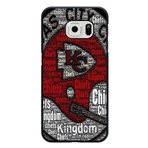 Eigenes beliebtes Design NFL Kansas City Chiefs Handytasche Schutzhülle für Samsung Galaxy S6Edge