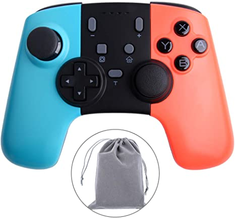 Owootecc Switch pro Controller, Gamepad Pro Wireless Controller ...