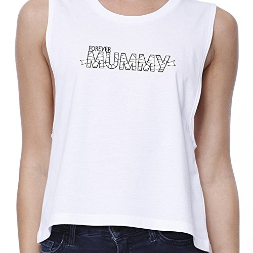 Mummy Size maniche Stampa One 365 Maglione Forever Woman senza RpTZO1