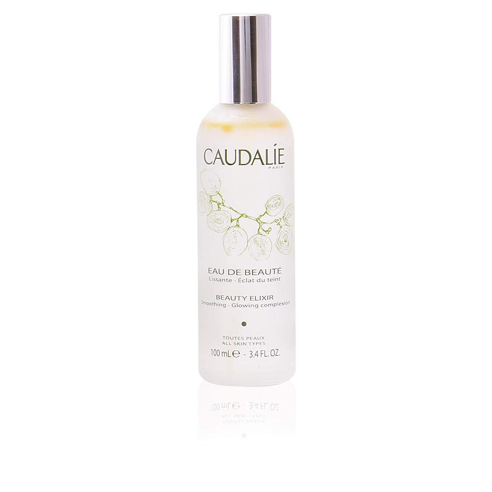 CaudalÍe Paris Beauty Elixir Eau de Beaute Spray. Refreshing and Lightweight Face T1r to Tighten Pores, Set Makeup, and Improve Oily Skin and Complexion, 3.4 Fl. Oz