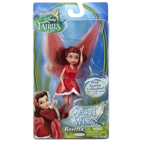 Disney Fairies Secret of the Wings Pixie Sparkle Collection Action Figure Rosetta