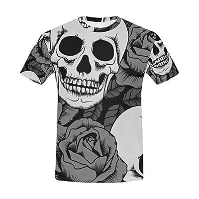 Sugar Skull Dia De Los Muertos Men's All Over Print T-shirt