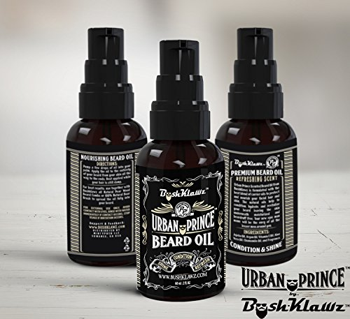 urban prince beard oil conditioner and hair beard comb. Black Bedroom Furniture Sets. Home Design Ideas