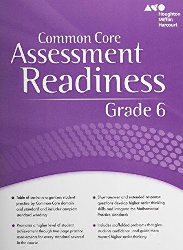 Holt McDougal Mathematics: Assessment Readiness Workbook Grade 6