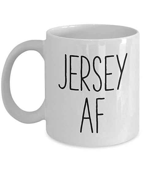 Amazoncom Nj Coffee Mug Funny New Jersey Themed Gag