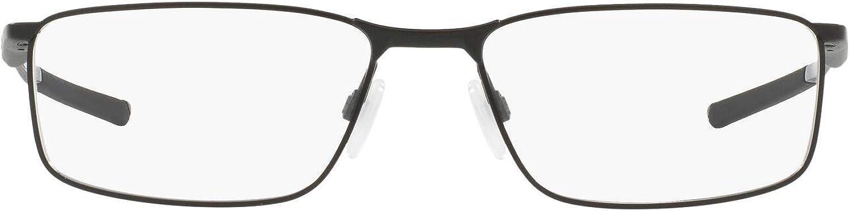 Oakley Men's Ox3217 Socket 5.0 Metal Rectangular Prescription Eyeglass Frames